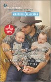 Her Cowboy's Twin Blessings and The Cowboy's Twin Surprise (eBook, ePUB)