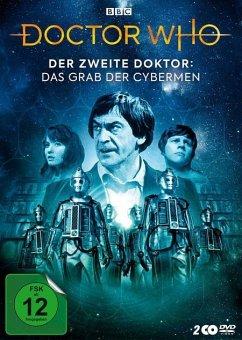 Doctor Who - 2. Doktor: Das Grab Der Cybermen DVD-Box - Troughten,Patrick/Watling,Deborah/Hines,Frazer/+