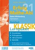 Erfolg im Mathe-Abi 2021 Lernpaket Basisfach 'Klassik' Baden-Württemberg Gymnasium
