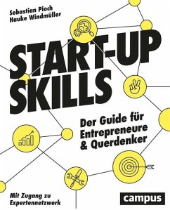 Start-up Skills (eBook, PDF) - Pioch, Sebastian; Windmüller, Hauke