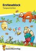 Erstleseblock - Tiergeschichten, A5-Block