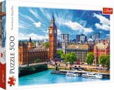 Trefl 37329 - Sunny day in London, Puzzle, 500 Teile