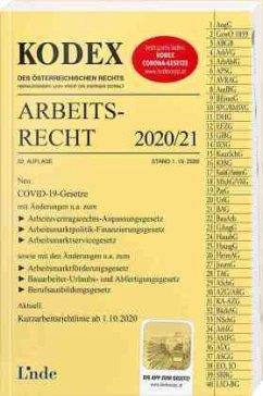 KODEX Arbeitsrecht 2020/21 - Stech, Edda;Ercher-Lederer, Gerda