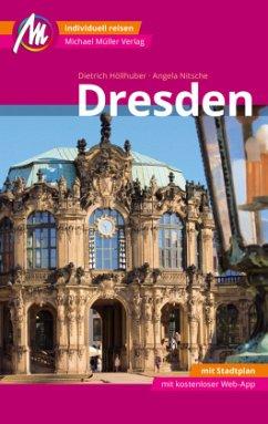 Dresden MM-City Reiseführer Michael Müller Verlag (Mängelexemplar) - Höllhuber, Dietrich; Nitsche, Angela