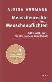 Menschenrechte und Menschenpflichten (Mängelexemplar)