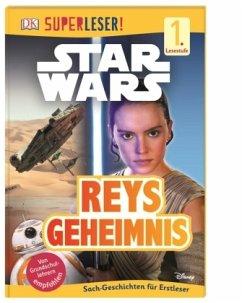 SUPERLESER! Star Wars(TM) Reys Geheimnis / Superleser 1. Lesestufe Bd.6 (Mängelexemplar) - Stock, Lisa