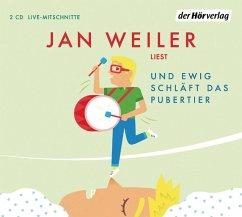 Und ewig schläft das Pubertier / Pubertier Bd.3 (2 Audio-CDs) (Mängelexemplar) - Weiler, Jan