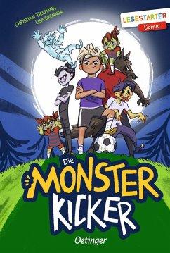 Die Monsterkicker (Mängelexemplar) - Tielmann, Christian
