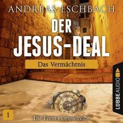 Der Jesus-Deal Folge 1 - Das Vermächtnis (Audio-CD) (Mängelexemplar) - Eschbach, Andreas