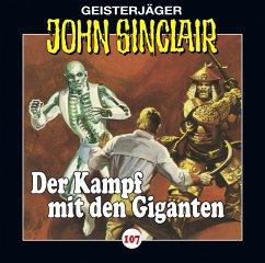 Der Kampf mit den Giganten / Geisterjäger John Sinclair Bd.107 (1 Audio-CD) (Mängelexemplar) - Dark, Jason