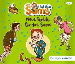 Neue Punkte für das Sams / Das Sams Bd.3 (3 Audio-CDs) (Mängelexemplar) - Maar, Paul