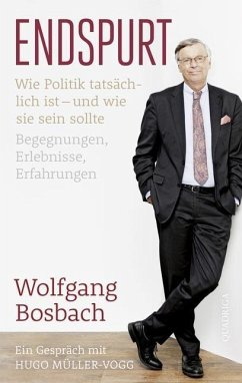 Endspurt (Mängelexemplar) - Bosbach, Wolfgang