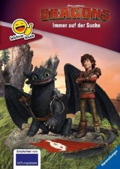 Dreamworks Dragons: Immer auf der Suche / leichter lesen Bd.6 (Mängelexemplar)