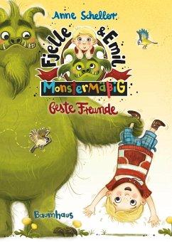 Monstermäßig beste Freunde / Fjelle und Emil Bd.1 (Mängelexemplar) - Scheller, Anne