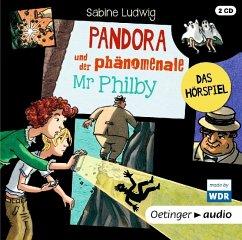 Pandora und der phänomenale Mr Philby, 2 Audio-CD (Mängelexemplar) - Ludwig, Sabine