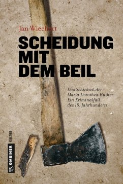 Scheidung mit dem Beil (Mängelexemplar) - Wiechert, Jan