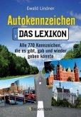 Autokennzeichen - Das Lexikon (Mängelexemplar)