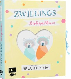 Zwillings-Babyalbum - Hurra, ihr seid da! (Mängelexemplar)