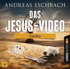 Das Jesus-Video Folge 4 - Exodus (Audio-CD) (Mängelexemplar) - Eschbach, Andreas