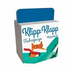 Klipp-Klapp-Klapperbuch - Fahrzeuge, m. Soundeffekten (Mängelexemplar)