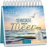 Postkartenkalender Sehnsucht nach Meer 2022