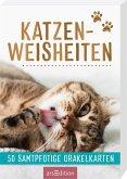 Katzenweisheiten. 50 samtpfotige Orakelkarten