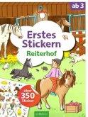 Erstes Stickern - Reiterhof