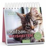 Postkartenkalender Katzenweisheiten 2022