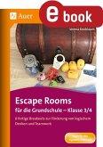 Escape Rooms für die Grundschule - Klasse 3/4 (eBook, PDF)