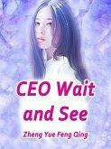 CEO, Wait and See (eBook, ePUB)