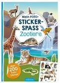 Mein Foto-Stickerspaß - Zootiere