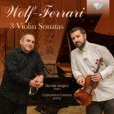Wolf-Ferrari:3 Violin Sonatas