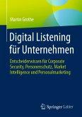 Digital Listening für Unternehmen (eBook, PDF)