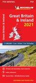 Great Britain & Ireland 2021 - Michelin National Map 713