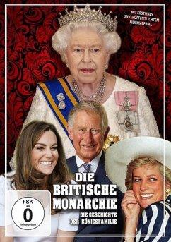 Die britische Monarchie - Die Geschichte der Königsfamilie DVD-Box - Queen Elizabeth/Prinz Charles/Lady Diana/+