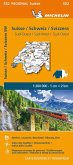 Suisse Sud-Ouest - Michelin Regional Map 552