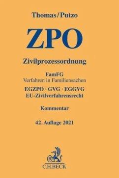 Zivilprozessordnung - Thomas, Heinz;Putzo, Hans;Reichold, Klaus