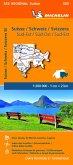 Suisse Sud-Est - Michelin Regional Map 553