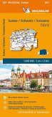 Suisse Nord - Michelin Regional Map 551