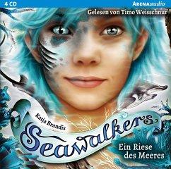 Ein Riese des Meeres / Seawalkers Bd.4 (4 Audio CDs) - Brandis, Katja