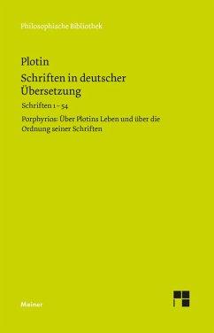 Schriften in deutscher Übersetzung (eBook, PDF) - Plotin
