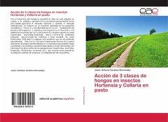 Acción de 3 clases de hongos en insectos Hortensia y Collaria en pasto
