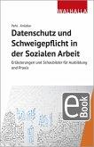 Datenschutz und Schweigepflicht in der Sozialen Arbeit (eBook, PDF)