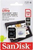 SanDisk Ultra Lite microSDXC Ad. 256GB 100MB/s SDSQUNR-256G-GN6TA