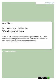 Inklusion und biblische Wundergeschichten (eBook, PDF)