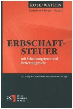 Erbschaftsteuer - Watrin, Christoph;Riegler, Fabian