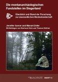 Die montanarchäologischen Fundstellen im Siegerland