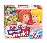 Bibi & Tina - Jubiläumsedition Box - Gemeinsam stark!, 2 Audio-CD