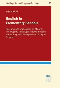 English in Elementary Schools - Steinlen, Anja