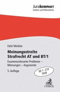 Meinungsstreite Strafrecht AT und BT/1 - Fahl, Christian;Winkler, Klaus